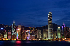 Hong Kong Harbour By Night (neil.glover) Tags: hongkong lights asia harbour symphonyoflights