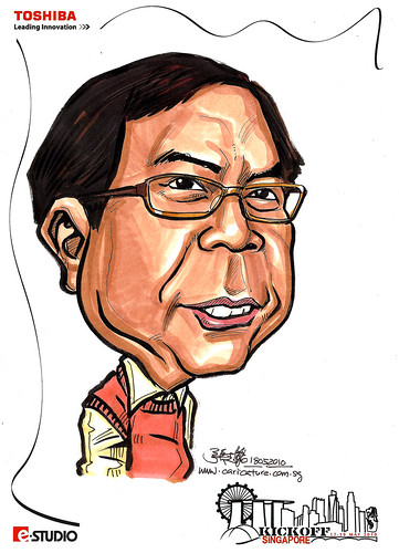 Caricature of Dick