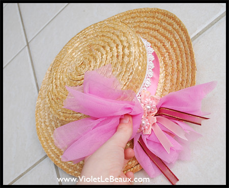 CanCan Hat Tutorial