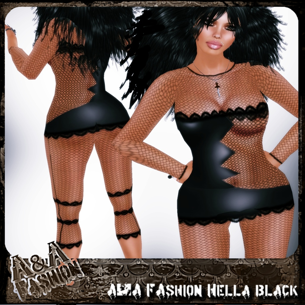A&A FAshion Hella Black