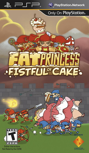 Fat Princess: Fistful of Cake for PSP (PSN or UMD)