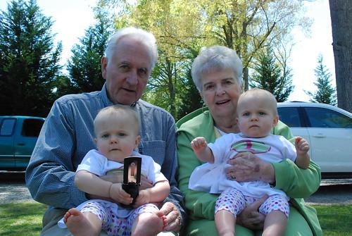 with Granny & Papa