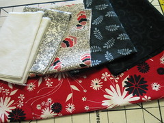 Fabric for Ravishing in Red