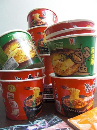 il richiamo del cibo orientale