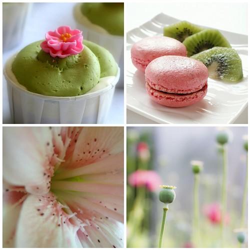 Pretty Pink & Green