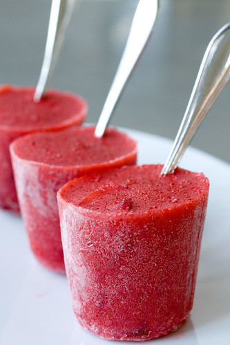 Very Berry Strawberry Ice Pops 7