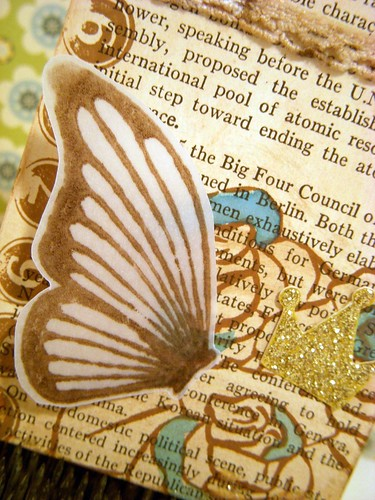 Butterfly Wings ATC Detail 1