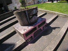 Optimus Prime Planter Box