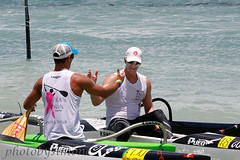 Danny Ching and Jimmy Austin (simone reddingius) Tags: woman sports sport race hawaii athletic maui watersports athlete fitness sup downwind wahine kanaha oc1 malikogulch olukai photobysimone