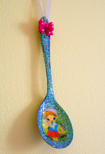 Upcycled Portia Pose Dolly Spoon