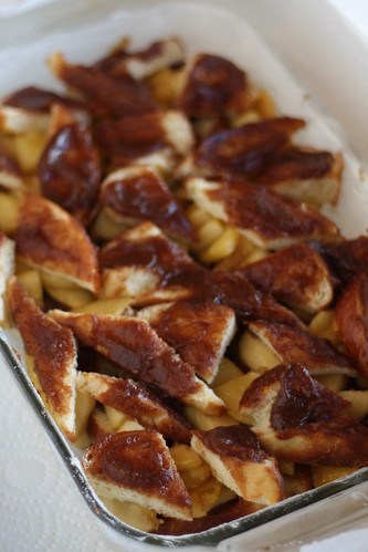 Apple-Apple Bread Pudding for Tuesdays with Dorie