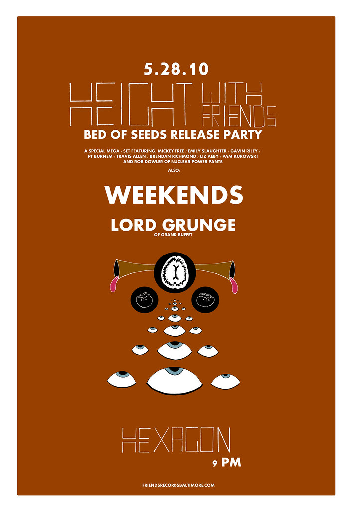 Bed of Seeds Release Party Poster