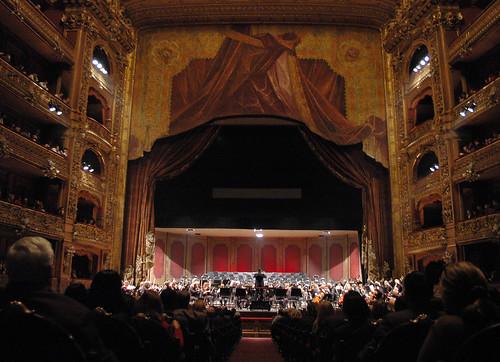 Inauguracion del Teatro Colon