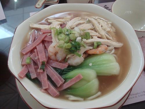 Noodle soup@HK airport