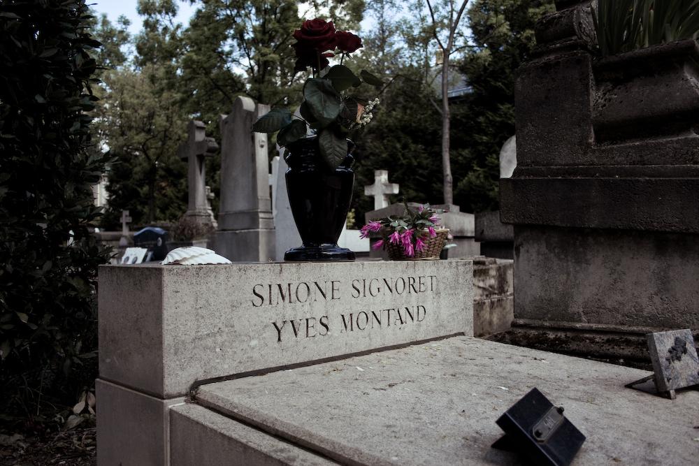 Grave of Simone Signoret