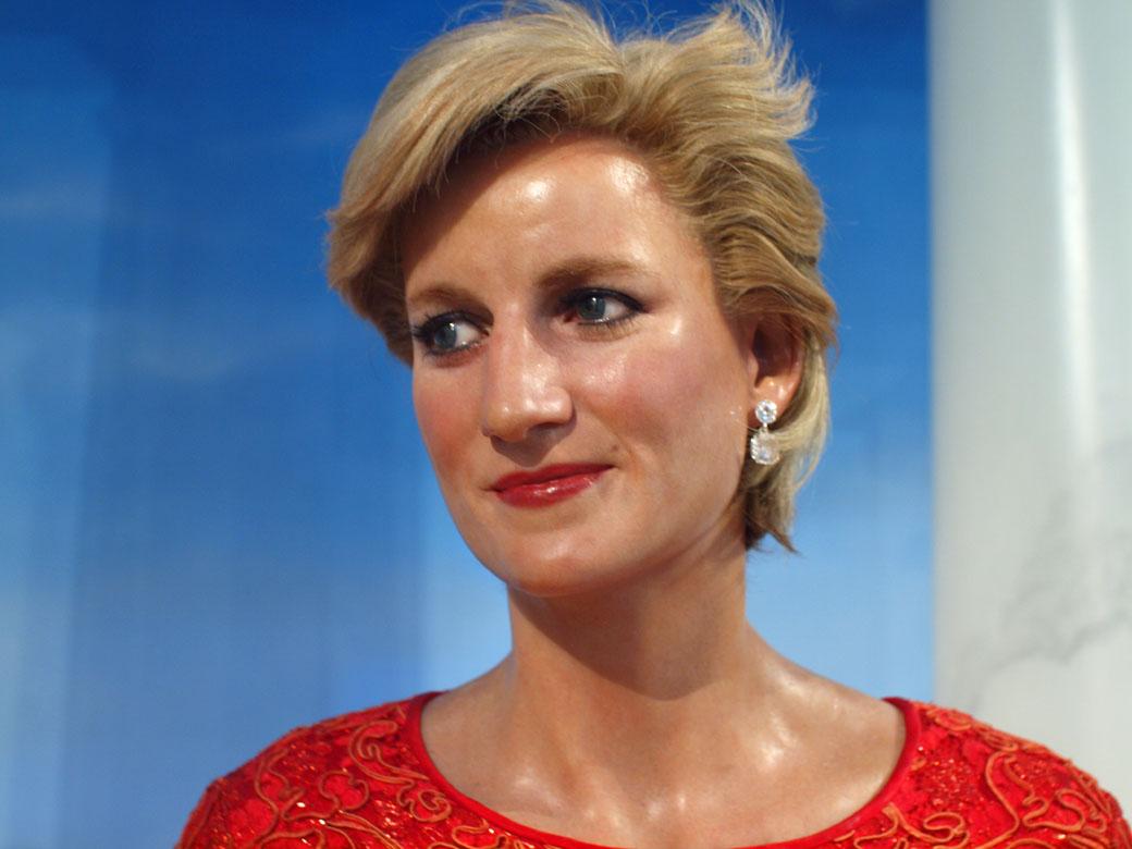 USA Trip - Diana at Madame Tussauds