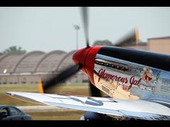 P-51 Mustang (Tim Serge) Tags: gimp maryland airshow mustang 2010 p51 andrewsairforcebase jointservicesopenhouse nikond80 sigma150500mmf563 capturenx2