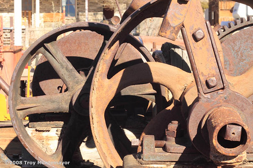 Mining Equipment, Belmont, Nevada