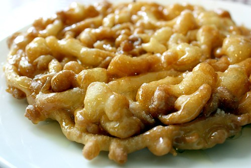 Honey Funnel Cake