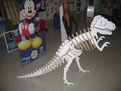 3D Dinasaur using unprinted X-Board