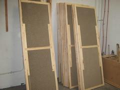 "Unskinned lightweight door ""blanks""  using X-Board Plus"