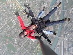 Hussam Yaish: Unforgettable Times in Switzerland (Hussam Yaish) Tags: switzerland paragliding bigblue hussam beatenberg حسام يعيش yaish hussamyaish حساميعيش twinparagliding hussamhilalyaish