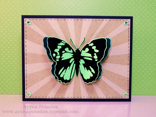 Embellish Challenge Inkadinkadoo Butterflies (1)