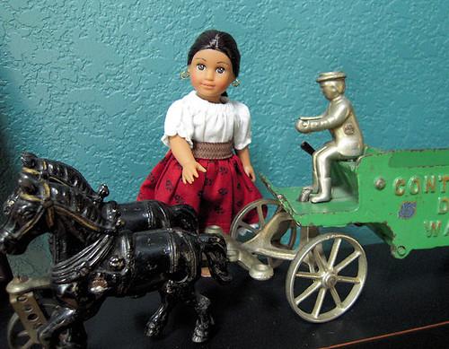 Josefina loves horses 1/365 5/27/10