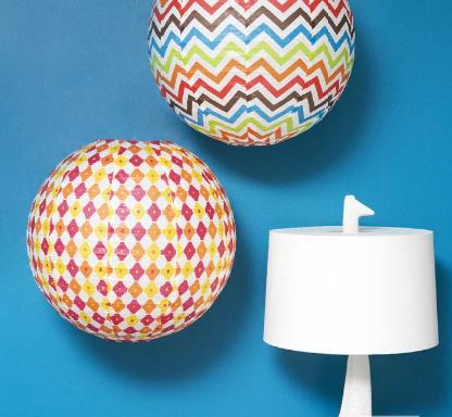 Jonathan Adler paper lanterns