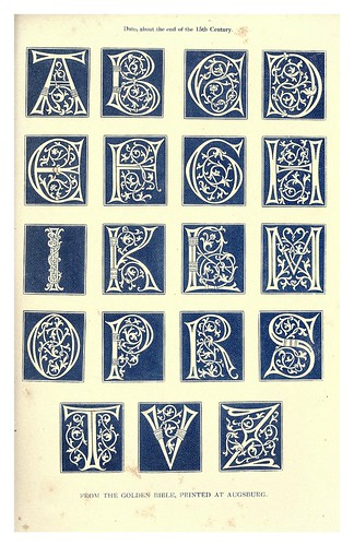 007-Siglo XV-The hand book of mediaeval alphabets and devices (1856)- Henry Shaw