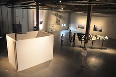 Overhead shot (AT1 Projects) Tags: gallerywall aaronwrinkle dangrahamvolumeat1projectsartlosangeles
