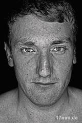 Sebastian (17mm.de) Tags: people man face gesicht sw mann kopf blackwhitephotos