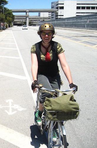 ramona rides to SFO