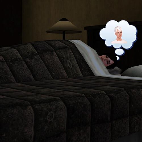 Aaron dreams of Ghost