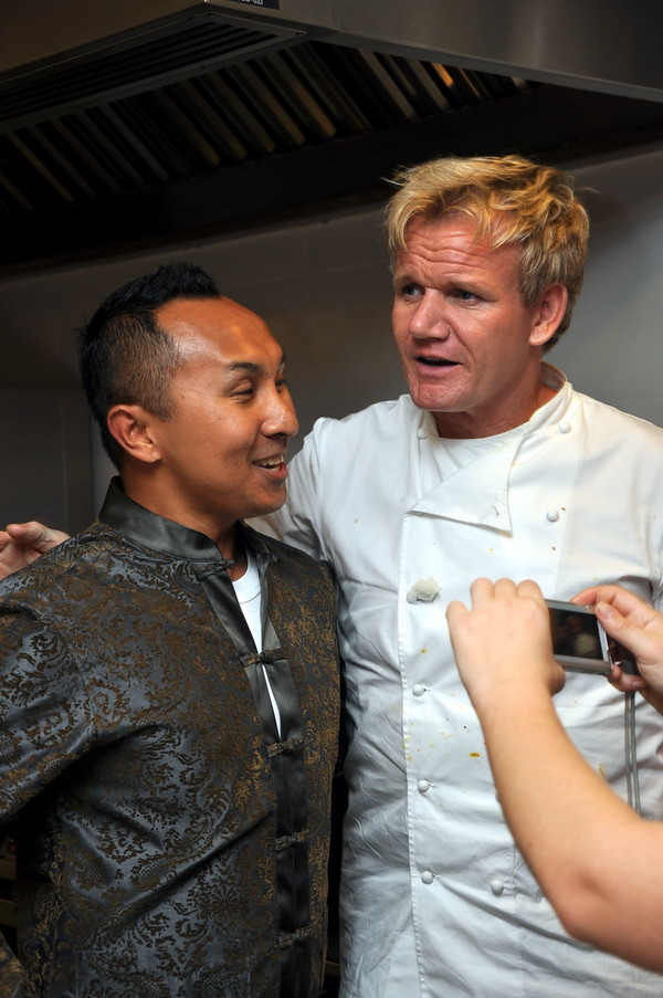 Gordon Ramsey & Norman Musa