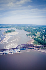 IMG_3081.jpg (SnakeTongue) Tags: bridge train river kentucky ky aerial helicopter louisville aerials