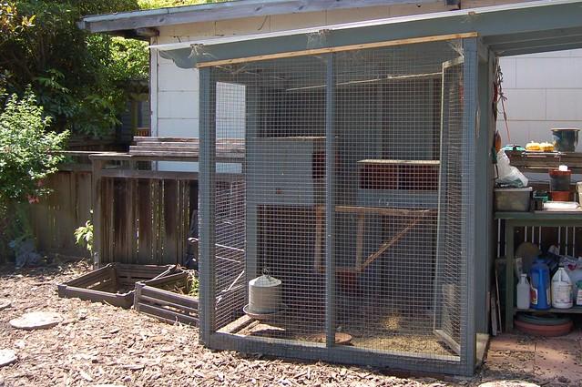 Fran's chicken coop