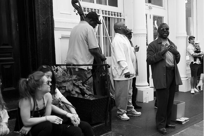 Street Musicians, SoHo NYC