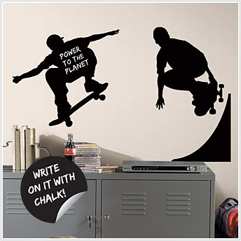 Chalkboard Stickers - Skaters