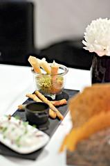 Seafood appetiser, Saint Pierre