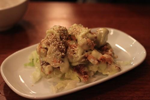 wasabi mayonnaise beef