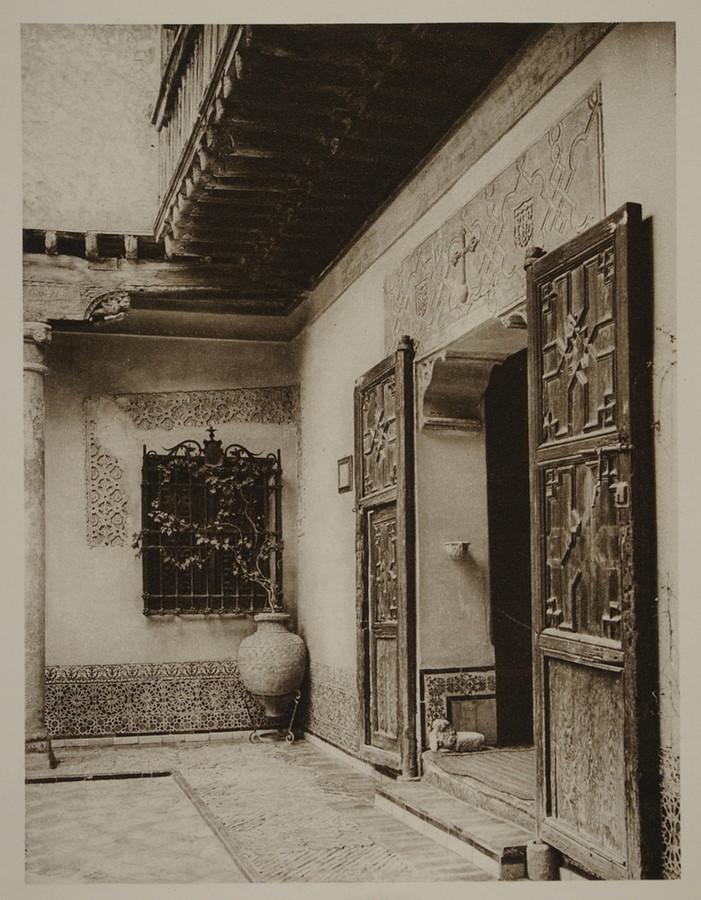 Casa del Greco hacia 1915. Fotografía de Kurt Hielscher.