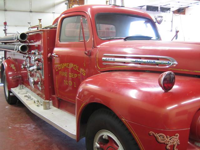 ford truck fire washington engine competition muster pumper bigjob f7 cosmopolis