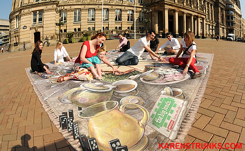 Big Lunch Launch at Victoria Square by Birmingham Photographer Karen Strunks