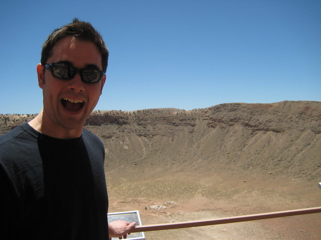 Fun at Meteor Crater!