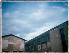 Polaroid Super Shooter / Butler Center USA (Michael Raso - Film Photography Podcast) Tags: polaroid butler newjerseyusa polaroidsupershooter fujifilmfp100c butlercenter butlernewjersey