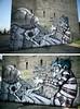 the whole wall (mrzero) Tags: white black wall concrete graffiti character poland styles lettering jam eco 2010 szczecin mrzero elomelo böki