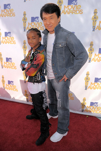 MTV Movie Awards 2010 Jaden Smith y Jackie Chan