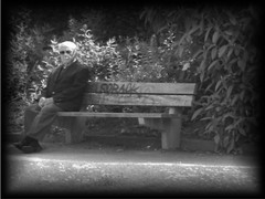 still thinking of u my love (moetsj) Tags: old people bw love lost photo pain remember patience