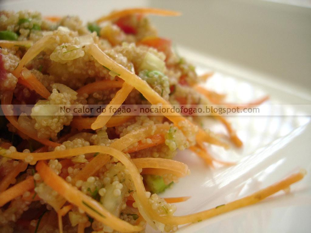 Salada de amaranto
